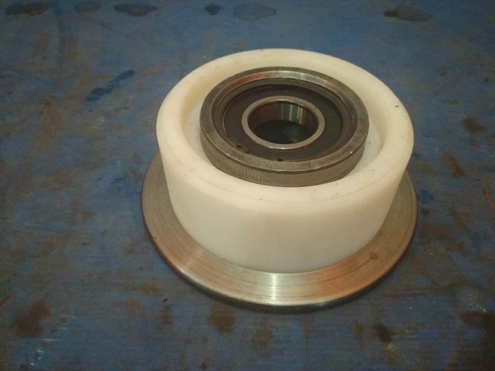 Изготовление и ремонт роликов СКИПа на нашем производстве