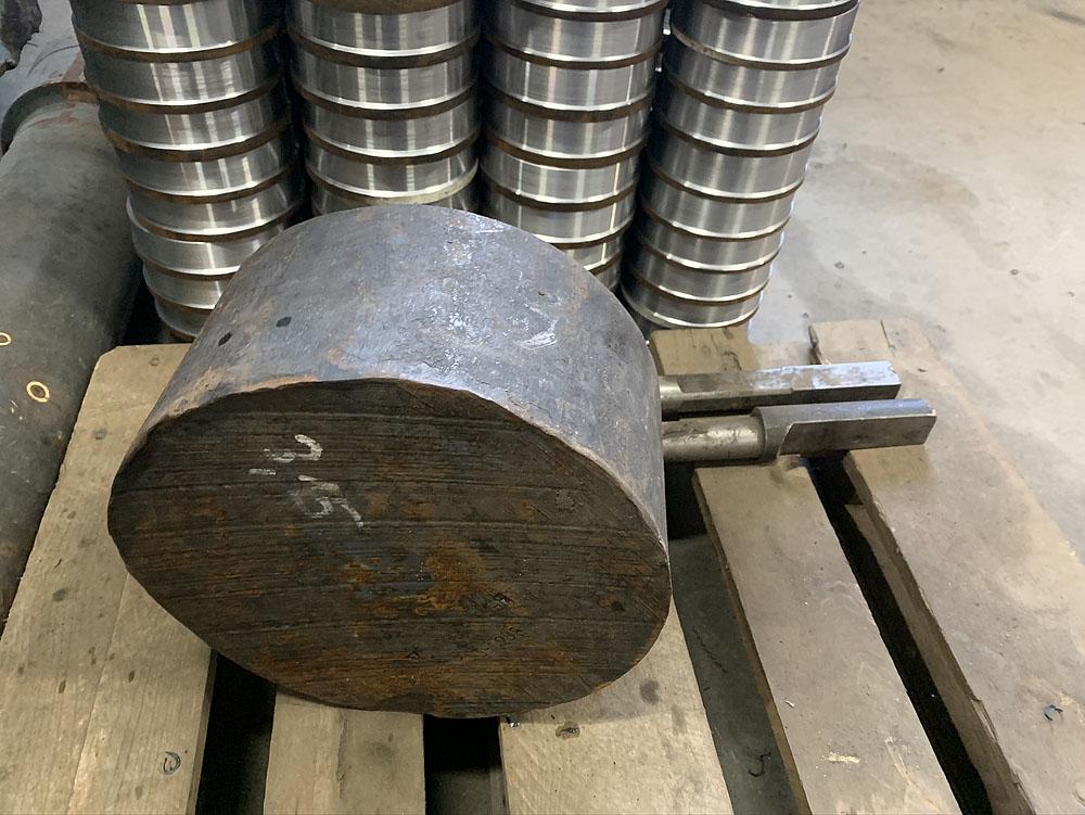 Ремонт и изготовление опорных роликов бочки миксера