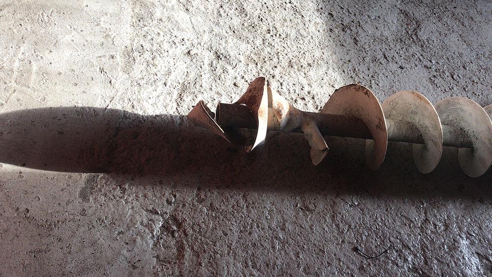 Ремонт шнеков подачи сыпучих материалов