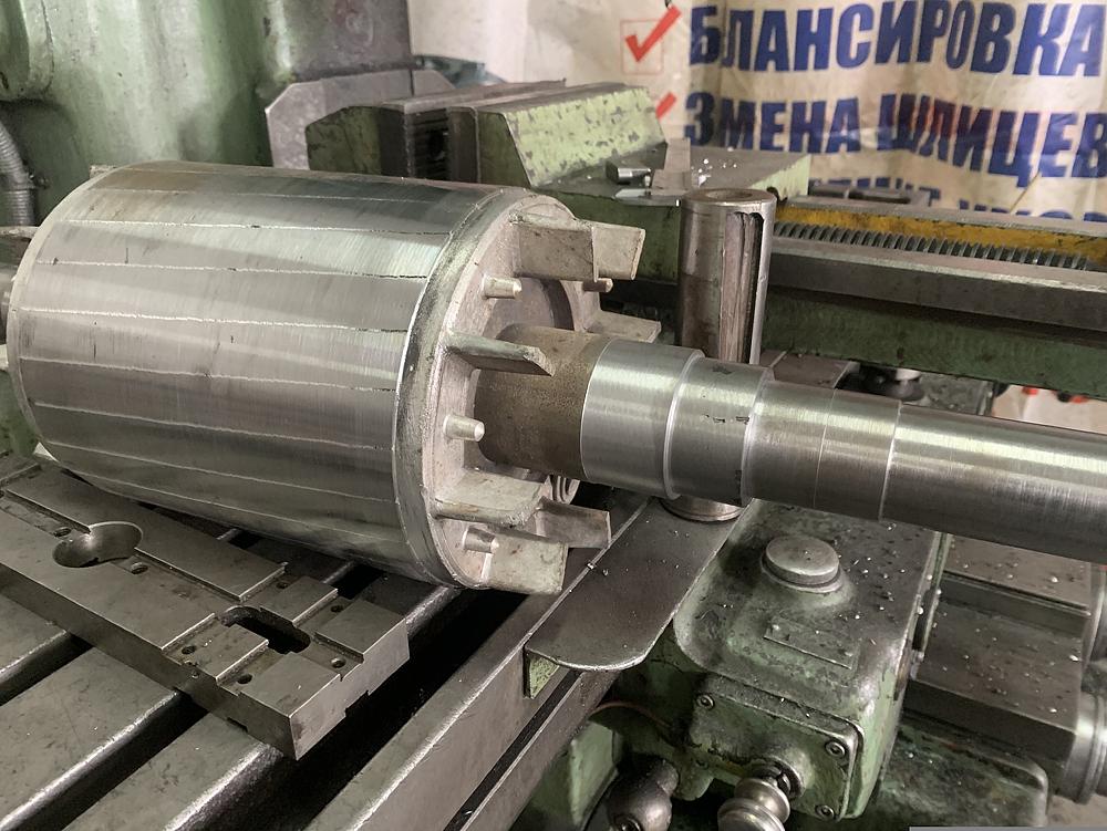 Восстановление ротора электромотора