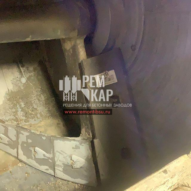 Замена тросов и скребков БСУ ELBA