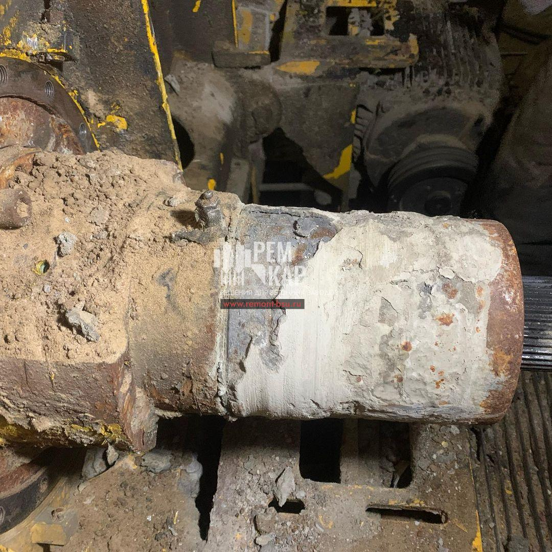 Разбираем бетоносмеситель SICOMA
