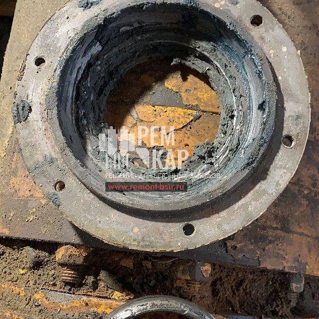 Дефектовка и временный ремонт до момента изготовления новых валов и сальниковых групп БСУ SICOMA 1500