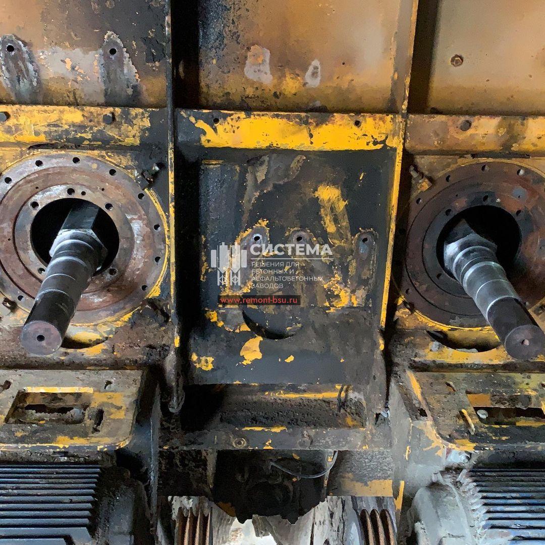 Восстановили валы и сальниковые группы мешалки БСУ Sicoma 155